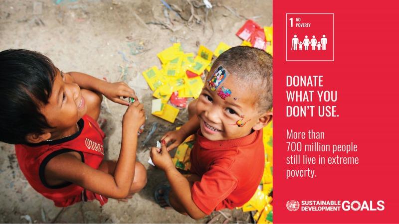 SDGsゴール1アクション