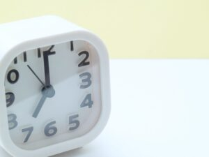 寝る時間のイメージ