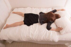 寝るイメージ
