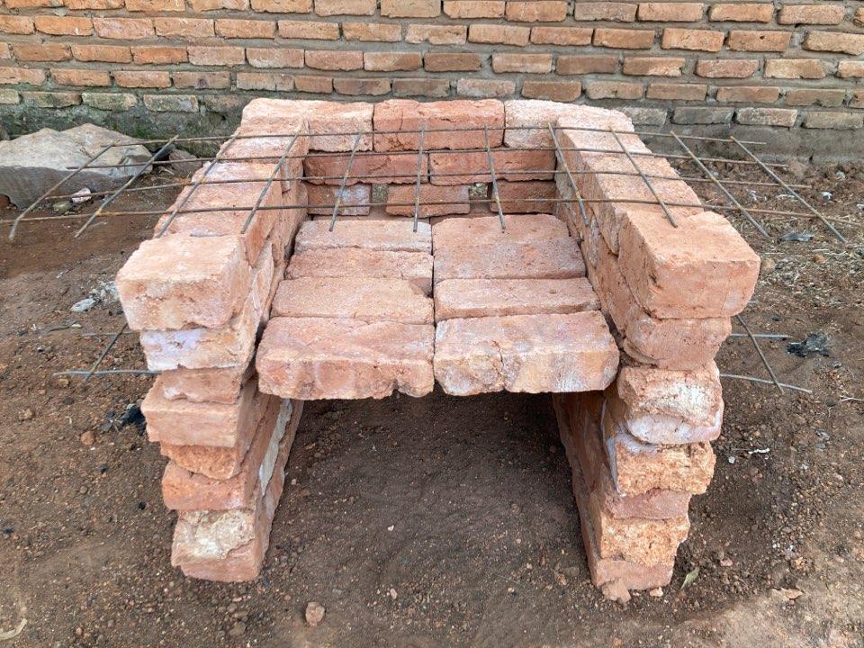 ピザ窯の作り方ステップ5