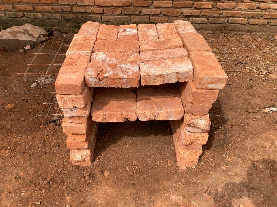 ピザ窯の作り方ステップ5−2
