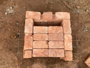 ピザ窯の作り方4−3